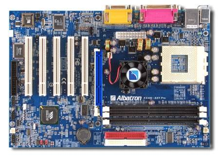 драйвер для albatron kx 400 8xv pro