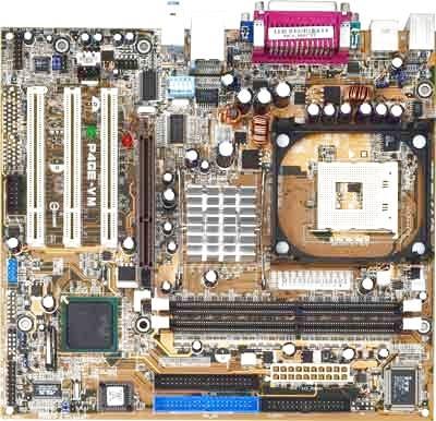 Asus p4ge-mx motherboard